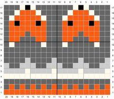 Excellent Free knitting charts fox Tips Knitting Socks Fox Free Pattern Ideas Tejido Fair Isle, Punto Fair Isle, Motif Fair Isle, Fair Isle Chart, Fair Isle Pattern, Fair Isle Knitting Patterns, Knitting Charts, Knitting Socks, Knit Patterns