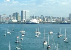 Views of San Diego from Coronado Island