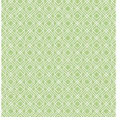 A fresh geometric pattern in a crisp lime shade. Bright white lines cross the grass hue background, creating overlapping diamond shapes. Napa is a repasted, non-woven wallpaper. Foxy Wallpaper, Said Wallpaper, Brick Wallpaper Roll, Trellis Wallpaper, Botanical Wallpaper, Embossed Wallpaper, Damask Wallpaper, Wallpaper Panels, Striped Wallpaper
