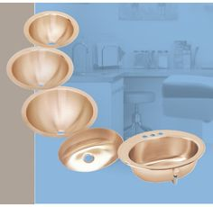 Sinks made with CuVerro Antimicrobial Copper