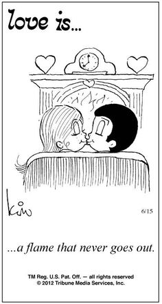 Love Is Comics | Love Is ... Comic Strip by Kim Casali (June 15, 2012)