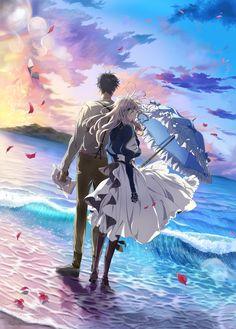 Tv Anime, Film Anime, Anime Love, Manga Anime, Anime Art, Akatsuki, Anime Violet Evergarden, Tokyo Anime, Violet Evergarden Gilbert
