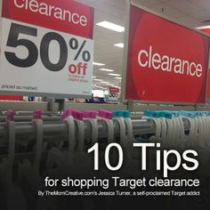 So many good tips for how to save big by shopping @target clearance #sales #frugal #target
