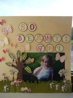 scrapbooking page layout with stampin up stamps | Stamp on it!: Stampin Up! scrapbook page (at last!)