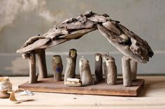 I collect nativities.....& don't have a driftwood one like this!!!