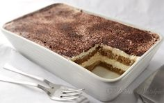 Easy Tiramisu Recipe - easy 5-minutes, no-bake tiramisu recipe without eggs