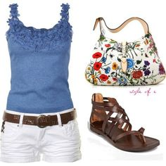 summer fun - so cute. That's something that I actually think I could pull off lol