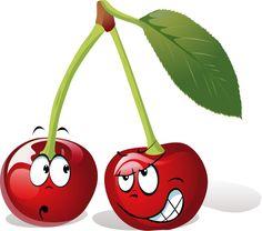Cartoon cherries