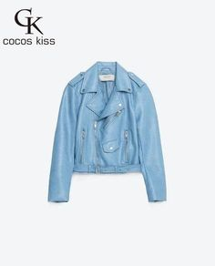 Mujer fashion Women Leather Jacket And The Wind Zipper Bright New Ladies Leather Coat Jacket Women