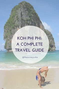 An awesome travel guide to help plan your trip to Koh Phi Phi!  More travel guides on pinktrotters.com
