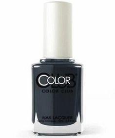 Color Club Nail Polish, Oh My Goth 1308 Color Club Nail Polish, Best Nail Polish, Smoke Screen, Shades Of Violet, Nail Treatment, Vegan Beauty, Gel Color, Stylish Nails, Makeup Cosmetics