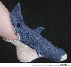 Shark got your foot?