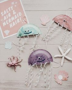 Toddler Arts And Crafts, Summer Crafts For Kids, Craft Activities For Kids, Baby Crafts, Cute Crafts, Preschool Crafts, Toddler Activities, Projects For Kids, Diy For Kids