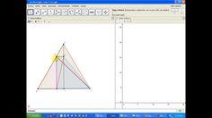 ¿Cuál de los trapecios BEDI formados dentro del triángulo ABC tiene mayor superficie?