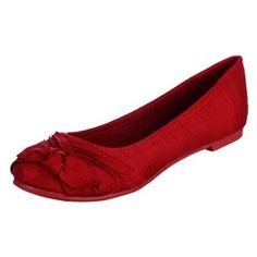 Rocket Dog Silk Ballet Flats.......these are my FAVORITE style of flats! I bought TWO pairs of them in black & i wore them like every day!