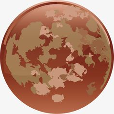 Grey planet, Land, Gray, Hand Painted Planet PNG and Vector