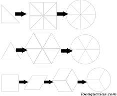 kaleidoscope cane segments