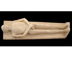 Transi du médecin Guillaume d'Harcigny, 1394. Musée de Laon.