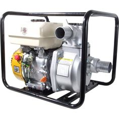 "Villiers 2"" Engine Powered Water Pump - Loncin Powered Equipment from pump.co.uk - W.Robinson & Sons (Ec) Ltd UK Flood Prevention, Diaphragm Pump, Black Water, Pumping, Water Features, Swimming Pools, Sons, Engineering, Electric"