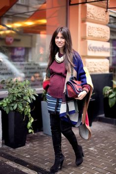 Shopaholic rules the world: How to ..be pregnant and stylish: Natasha Goldenberg