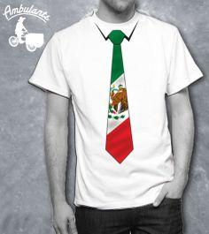 CORBATA Playera AMBULANTE Viva Mexico!! Vivaaaaa! Viva Mexico!! Vivaaaaa!Viva…