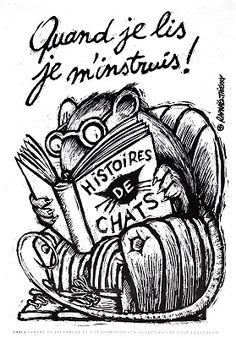 Quand je lis je m'instruis! / Raphaël Thierry [19--?]
