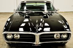 1968 Pontiac Firebird Pro-Touring with pro-charger (front view)
