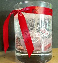 Valentines Day Candles by Paula on the CropChocolate.com Design Team.    http://blog.cropchocolate.com/2012/02/valentines-day-candle-by-jeepmama.html