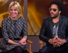 """Rounding out a very """"The Hunger Games: Catching Fire""""-filled week on """"Good Morning America,"""" stars Elizabeth Banks and Lenny Kravitz stopped by the morning show to talk about their characters and the blockbuster flick."""