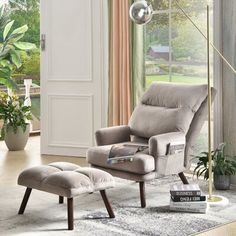Velvet Wingback Chair, Upholstered Sofa, Chesterfield Chair, Recliner With Ottoman, Recliner Chairs, Recliners, Armchair, Lounge Chair, Rocking Chair
