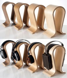 Sieveking Sound Omega headphones stand for your hi-end cans.