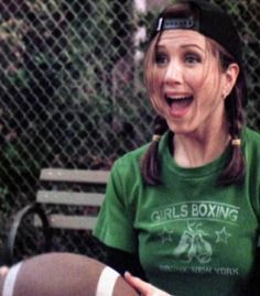Rachel Green Thanksgiving boxing tshirt - F Friends 1994, Rachel Friends, Friends Cast, Friends Moments, Friends Series, I Love My Friends, Friends Tv Show, Friends Forever, Best Friends