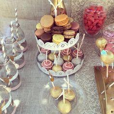 Macarons, cakepops