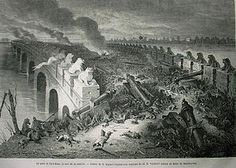 Second Opium War  Part of the Opium Wars  La bataille de Palikiao.jpg  Pa-Li-Kiao's bridge, on the evening of the battle, by Émile Bayard  Date 	1856–1860  Location 	China  Result 	Anglo-French victory; Treaties of Tientsin  Territorial  changes 	Southern Kowloon ceded to the United Kingdom