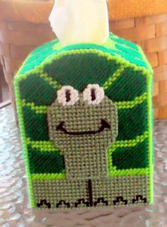 TURTLE Tissue Box Cover by TissueMart on Etsy, $20.00