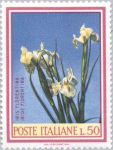 Sello: Iris (Italia) (Flora) Mi:IT 1248,Sn:IT 935A,Yt:IT 990,Sg:IT 1158,Un:IT 1062