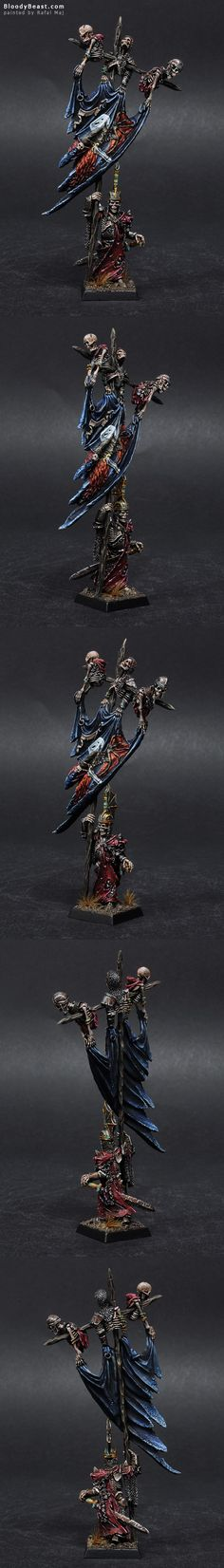 Vampire Counts Wight King Battle Standard Bearer