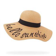 belababy Women s Floppy Big Brim Sun Hat for Fall Foldable Beach Elegant  Cursive Embroidered Straw Hat c44f06ada