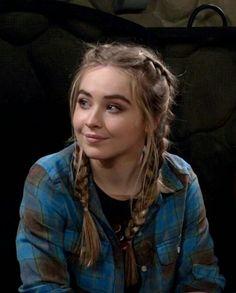 Sabrina braided hairstyle