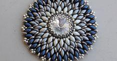Silfoxes Beading: grigio-blu