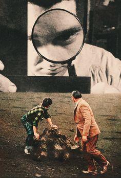 """ayhamjabr: """"Under Surveillance. Surreal Mixed Media Collage Art By Ayham Jabr. Instagram-Facebook """""""