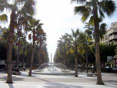 Almería - Avenida de Federico Garcia Lorca http://bobbovington.blogspot.com.es/2013/05/almeria-by-robert-bovington.html