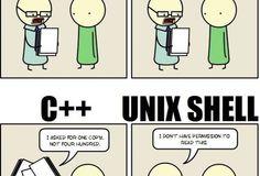 Programming language essay comic
