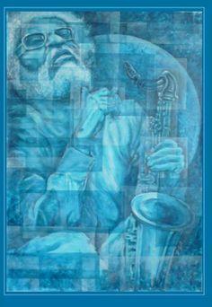 Sonny Rollins Photo Illustration, Illustrations, Sonny Rollins, Herbie Hancock, Jazz Art, Saxophones, Jazz Musicians, Jazz Blues, Art Music