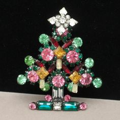 Christmas Tree Pin, Larry Vrba