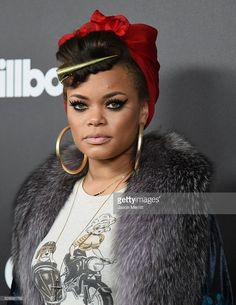 andra day | Recording artist Andra Day attends 2016 Billboard Power 100 ...