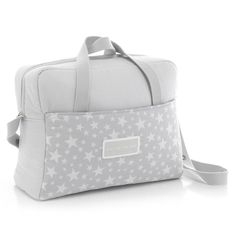 Cambrass Star - Bolso maternal tipo maleta, color gris: Amazon.es: Bebé