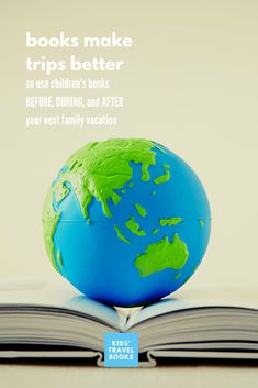 If you're investing in a vacation with kids, there are many ways you can use books to help enhance your trip. Here are some tips.