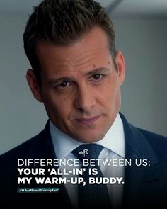 Im here to WIN. No games. . . . #whatwouldharveydo #harveyspecter #motivationalquotes #gabrielmacht #badass #work #game #winner #hustle #hustler #harveyspecterquotes #hustlehard #unbreakable #heretowin #wwhd