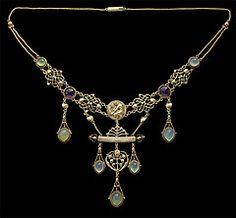 The Apollo Necklace, British c. 1904
